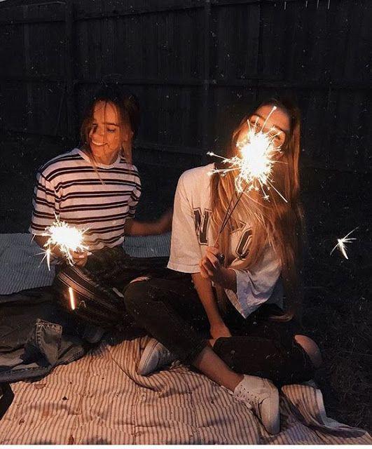 Idee für ein Nachtfoto mit Ihrem besten Freund! Folge mir als Manuela Paz ❤ U…