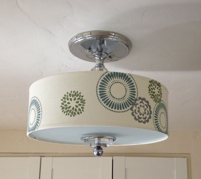 room and board lighting. stenciling on fabric u2013 lampshade and pillow room board lighting m