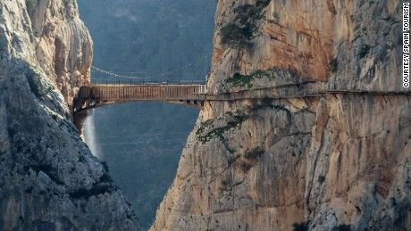 World's most dangerous footpath set to reopen in Spain