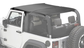 Gonna need a way to cover up when it gets hot. A Rugged Ridge jeep bikini top should suffice: http://www.autoanything.com/jeep-tops/73A4868A0A0.aspx