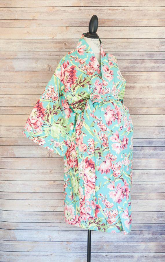Mutterschaft-Kimono-Stil-Robe Jolie-Koordinate zu einem von modmum