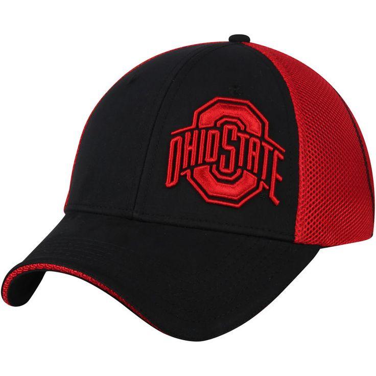 Ohio State Buckeyes Score STR Mesh Back Flex Hat - Black