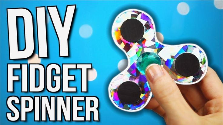 Fidget Spinner DIY WITHOUT BEARINGS! How To Make a Fidget Spinner