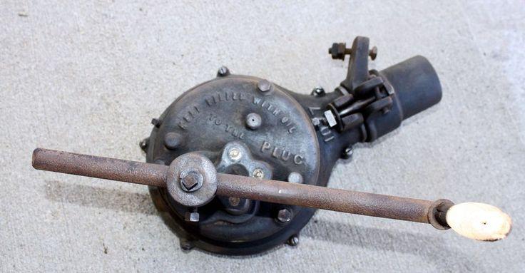 Vintage Antique  Blacksmith Forge Blower Tool