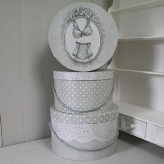 Boîte Mathilde-M Décoration Lingerie chez Cosydeco.com