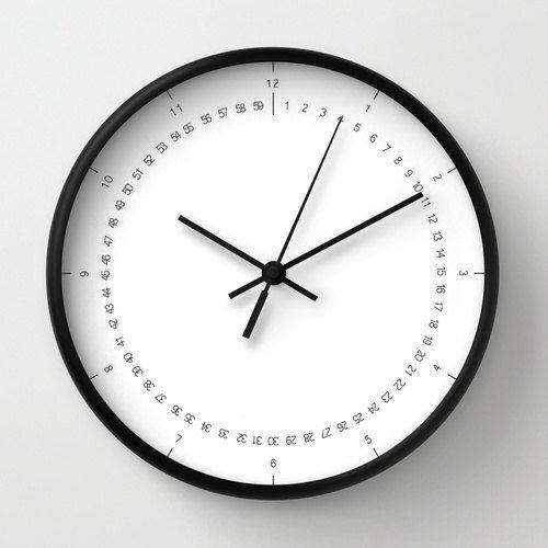 Classico orologio coi numeri, orologio essenziale, orologio moderno, orologio in legno di LazyLittleLuckyGirl su Etsy https://www.etsy.com/it/listing/214507162/classico-orologio-coi-numeri-orologio