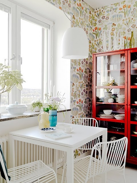 Wallpaper: Dining Rooms, Kitchens, Idea, Interiors, Apartment, Wallpapers