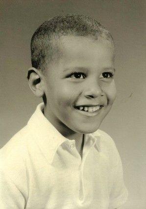 Young Barack Obama, shown in an undated photograph provided by Obama's half sister, Maya Soetoro-Ng.