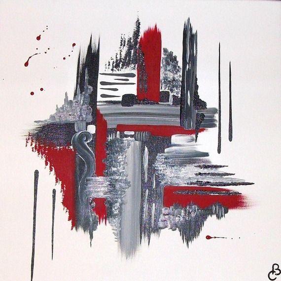 Très Les 25 meilleures idées de la catégorie Art abstrait moderne sur  PY22