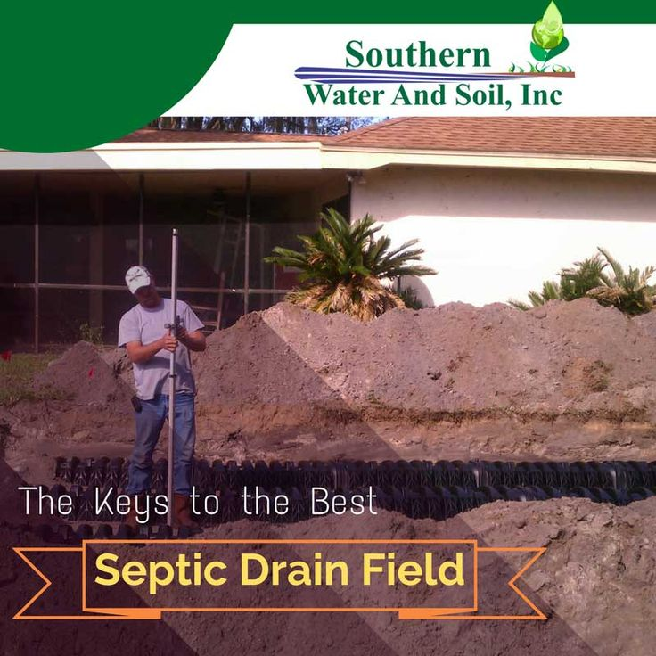 The Keys To The Best Septic Drain Field Drain Septic