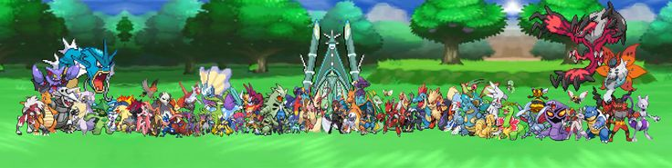 My Pokemon Group Photo!