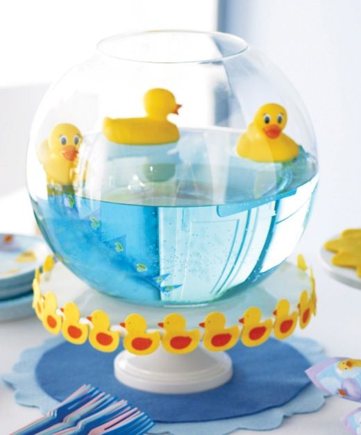 Table Centerpiece Ideas For Baby Shower sweet vases Find This Pin And More On Baby Shower Centerpieces