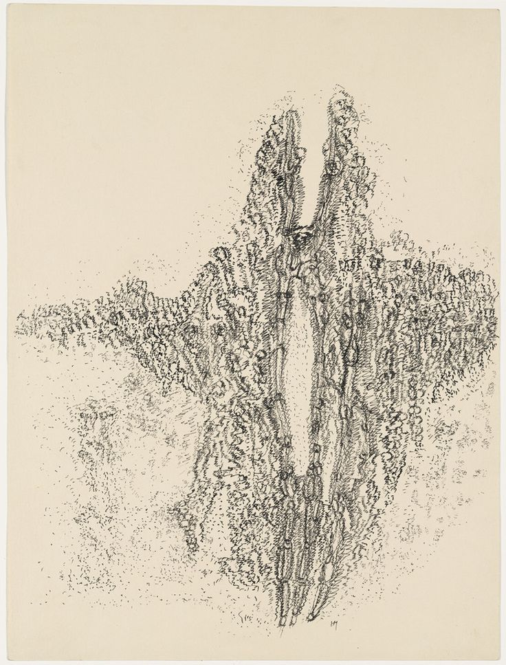 Henri Michaux, 'Mescaline Drawing', 1960.