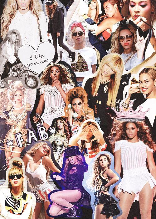 Beyonce Collage | Group of: Beyonce collage | We Heart It
