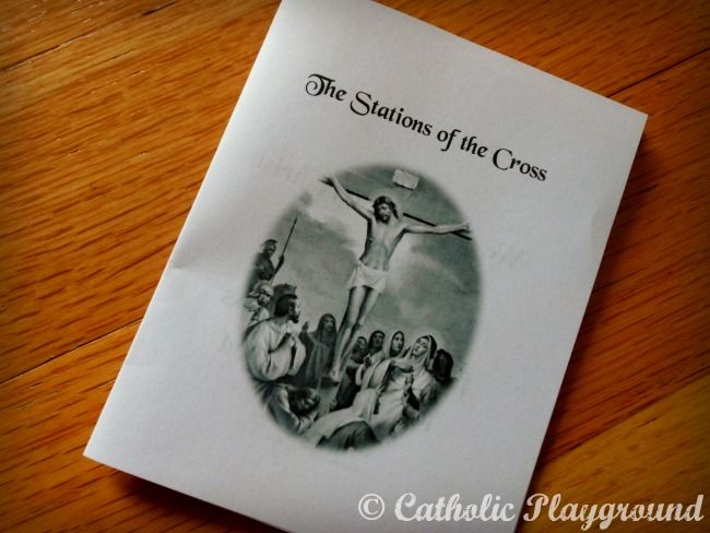 Stations Of The Cross Booklet Catholic Playground
