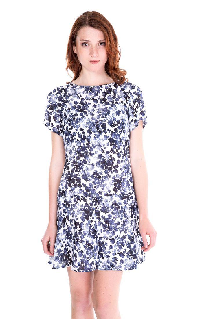 SHOP THE LOOK > #manzetti #mymanzetti #michaelkors #floral #dress #woman #fashion #style #shoponline #shopping #rome #clothing