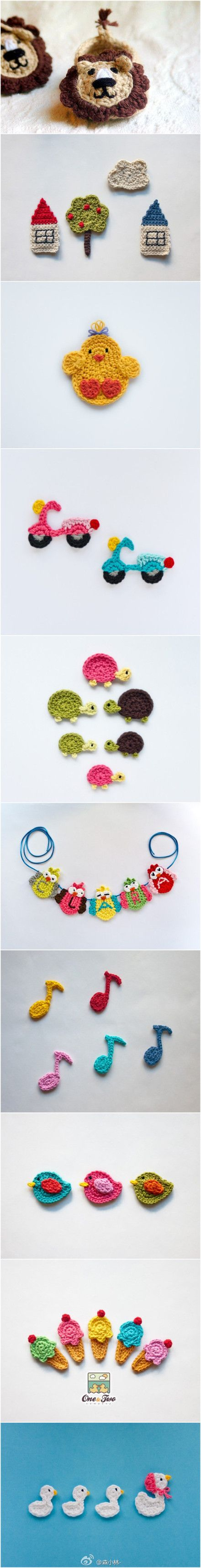 2680 best crochet images on Pinterest | Book markers, Marque page ...