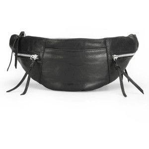 Markberg Women's Malou Leather Bum Bag - Black