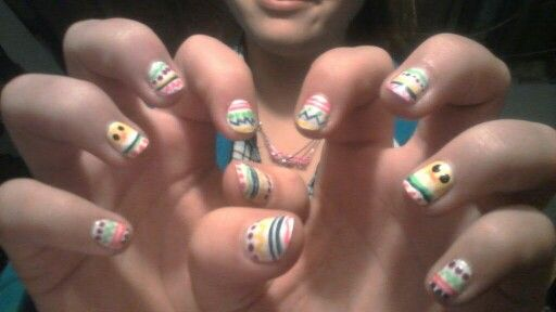 More Easter nails!