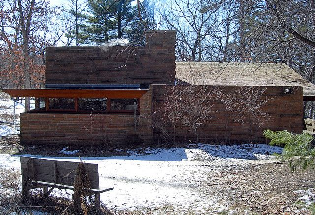 Seth Peterson Cottage, by Frank Lloyd Wright 20090312 4187 | Flickr - Photo Sharing!