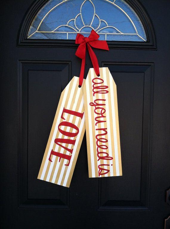 Best 25 Door Hanger Template Ideas On Pinterest Burlap