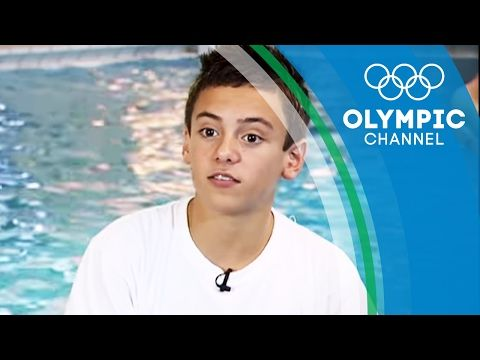 Tom Daley in his Early Teens Before Beijing 2008 | Before They Were Superstars - YouTube