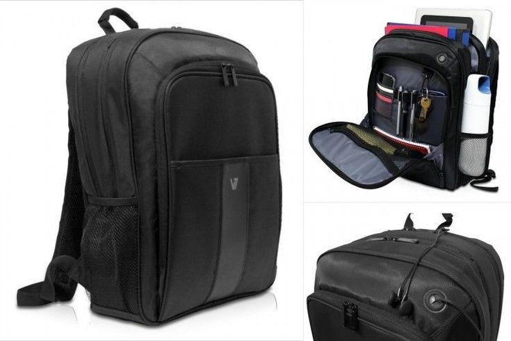 Laptop Backpack 17'' Black Water Proof Back Pack Tablet Sleeve Case Storage Bag #LaptopBackpack