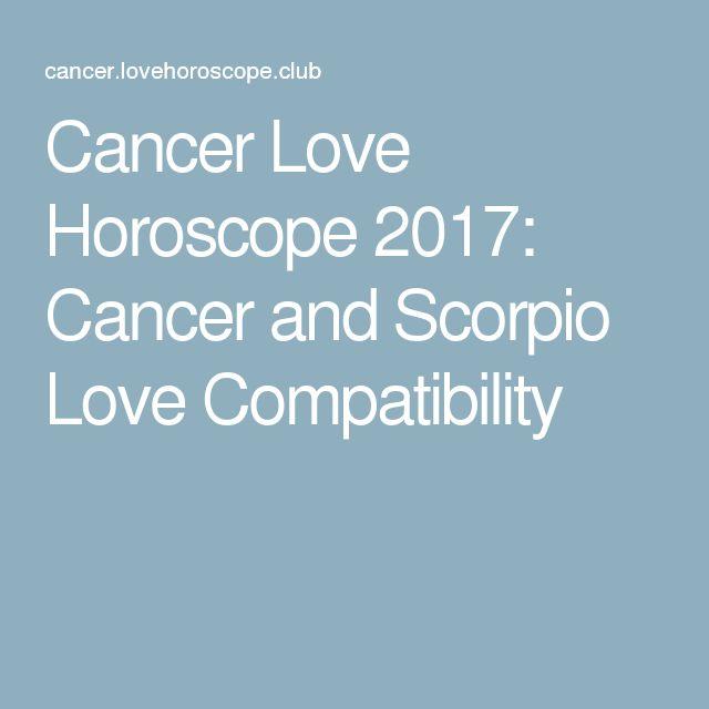 Cancer Love Horoscope 2017: Cancer and Scorpio Love Compatibility