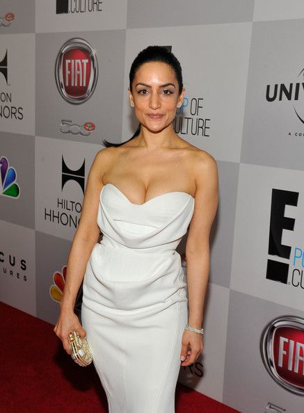 Archie Panjabi in NBCUniversal Golden Globes Viewing And After Party - Red Carpet
