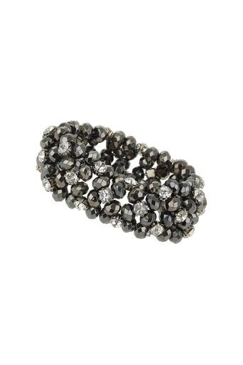 Facet And Rhinestone Stretch Bracelet