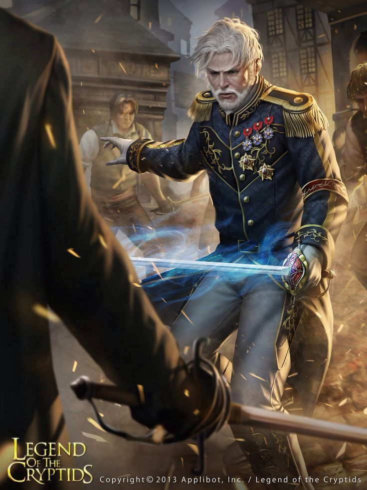 Capitán envolved legend of the cryptids