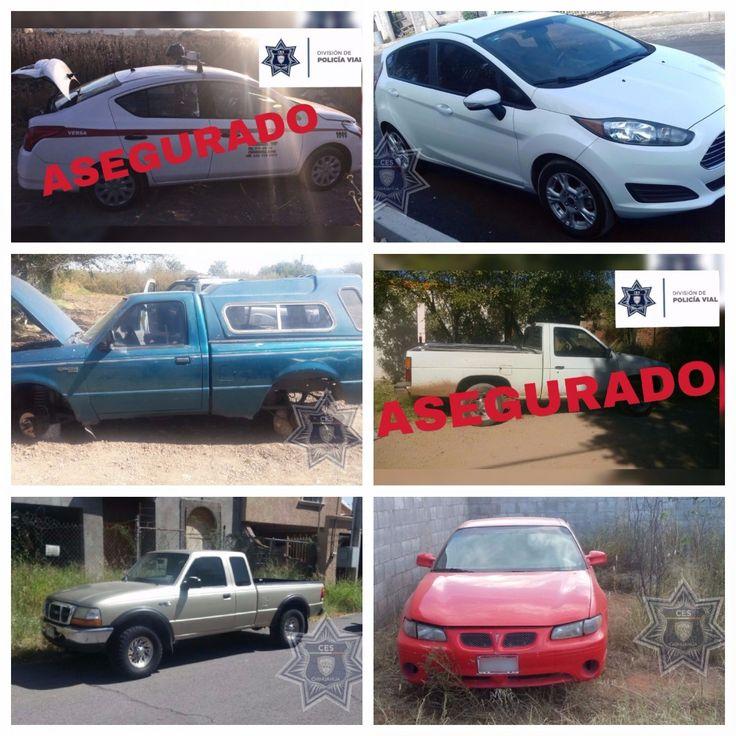 Recupera Policía Vial seis vehículos con reporte de robo | El Puntero