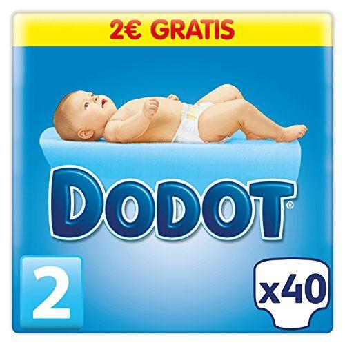 Dodot - Pañales para bebé, talla 2 - 40 pañales #Dodot #Pañales #para #bebé, #talla #pañales