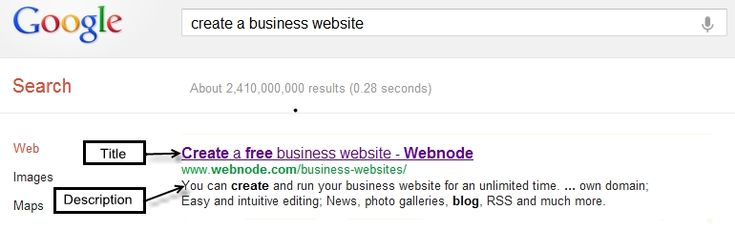 Quick Tip - Improve the display of your website in search results