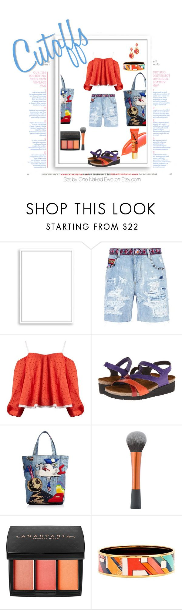 """Cutoffs"" by onenakedewe ❤ liked on Polyvore featuring Bomedo, Dolce&Gabbana, Anna October, Naot, Marc Jacobs, Anastasia Beverly Hills, Hermès, Oscar de la Renta, DENIMCUTOFFS and denimshorts"