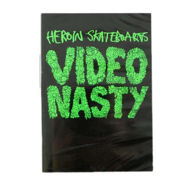 HEROIN SKATEBOARDS VIDEO NASTY DVD  Buy Here: http://www.blacksheepstore.co.uk/heroin-skateboards-video-nasty-dvd.html