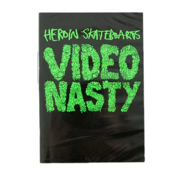 HEROIN SKATEBOARDS VIDEO NASTY DVD  Buy Here: http://www.blacksheepstore.co.uk/heroin-skateboards-video-nasty-dvd.html