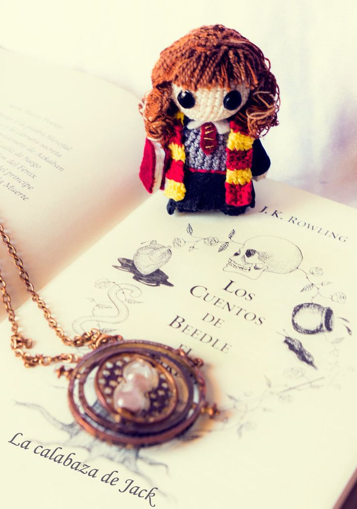 Hermione Granger Amigurumi (Harry Potter) by cristell15