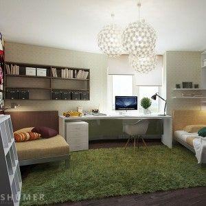 Cozy Teen Workspace - Interior Design
