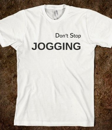 """Going jogging makes me feel powerful and free - like Rocky!"" Jennifer Hudson Don't Stop JOGGING!"