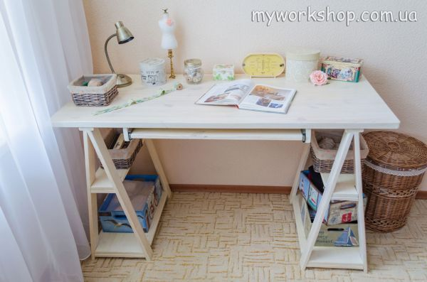 Письменный (компьютерный) стол своими руками 8