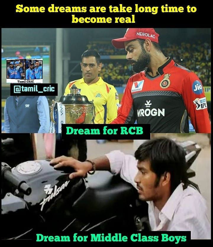 Close Enough Follow Tamil Cric Admin Anbaana Tamil Dhoni Chennai Super Kings Royal Challengers Bangalore Mumbai Indians