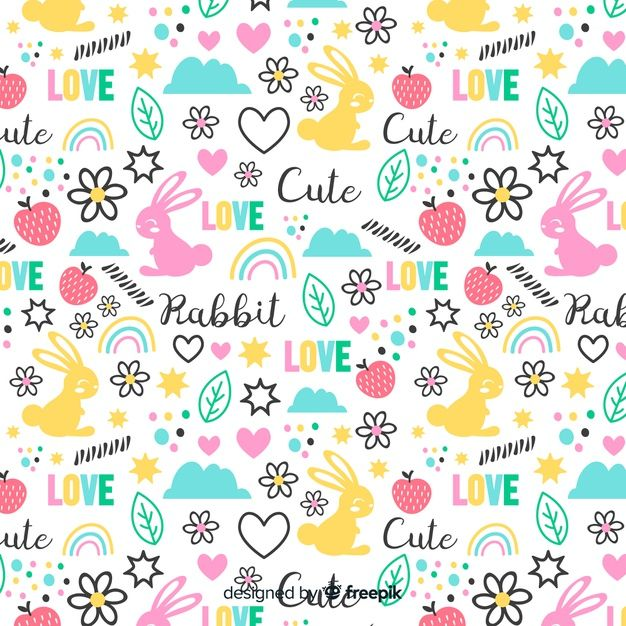 Download Funny Doodle Animals And Words Pattern For Free Funny Doodles Word Patterns Doodles