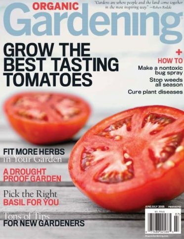 Today Only, One year subscription to Organic Gardening magazine for $4.99