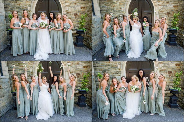 Fun Bridesmaids photos at a Alverton Hotel Wedding