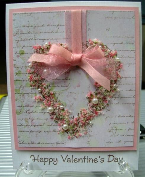 Pink Little Valentine by karensallen - Cards and Paper Crafts at Splitcoaststampers