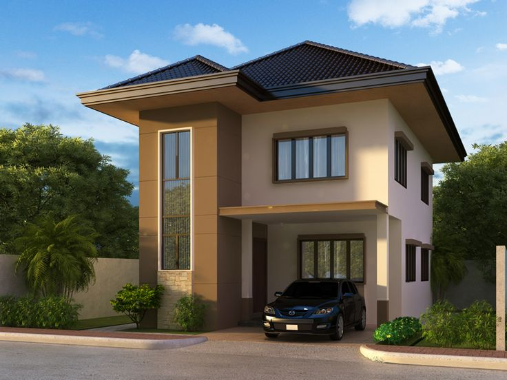 Two story house plans can be designed on almost any style whether
