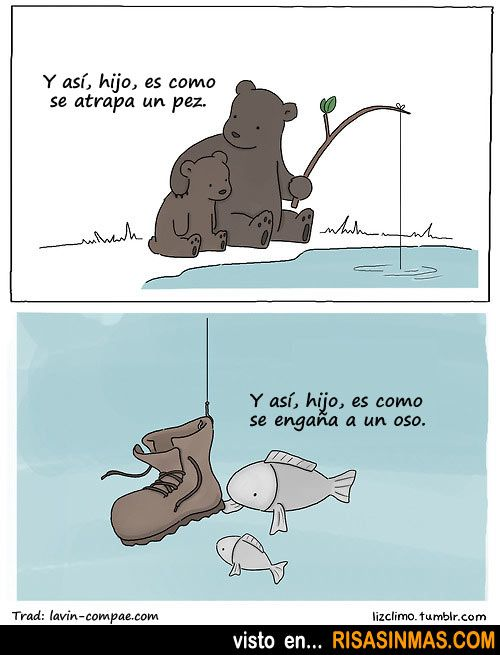 Fun image for teaching Spanish to kids: Learning in nature. Aprendizaje en la naturaleza. #learn #spanish #kids
