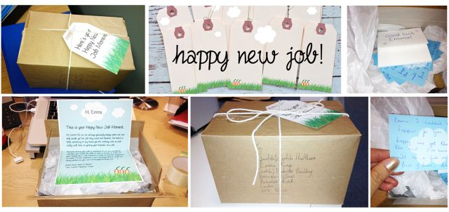 Happy new job moments - could you be next to receive a gift? :)
