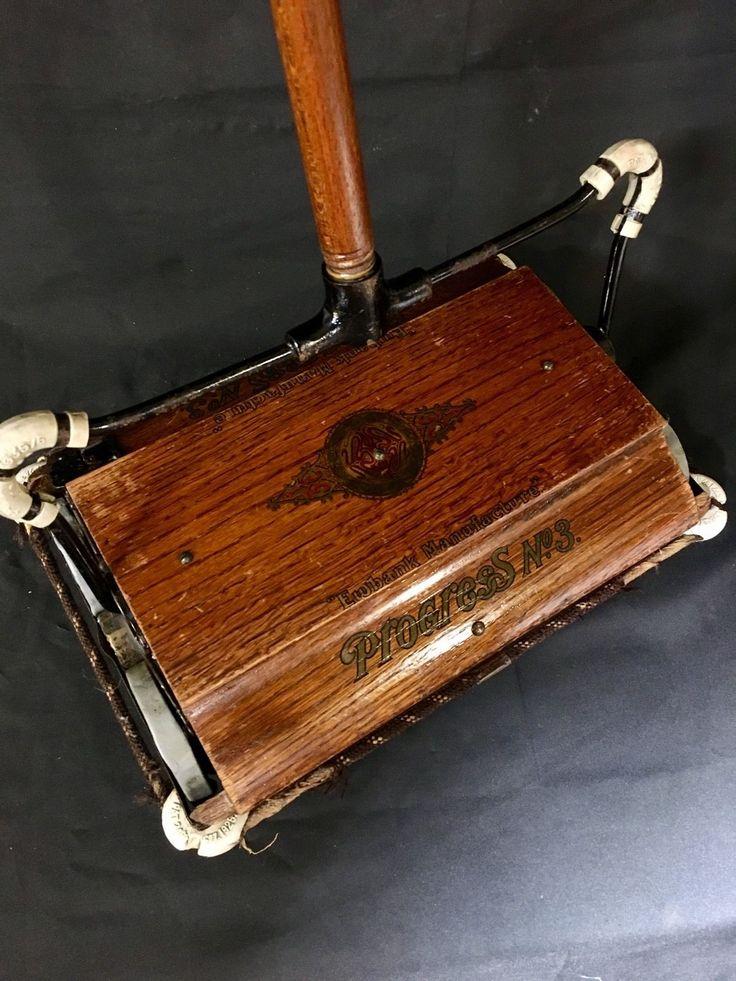 1920's VACUUM CLEANER OLD OAK EWBANK PROGRESS No. 3 carpet ...